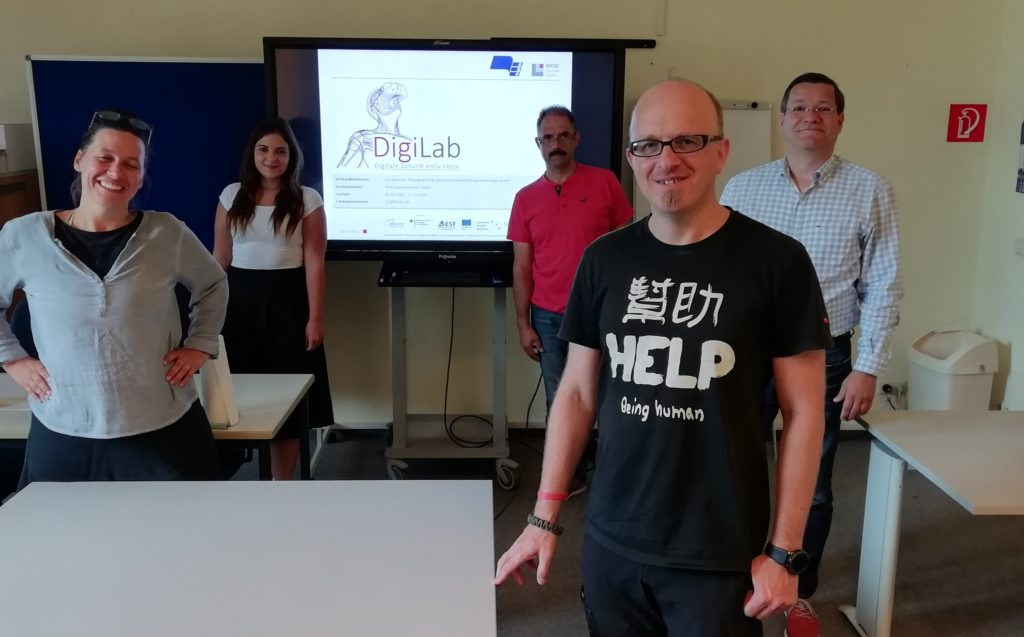 Besprechung Azubi4ID-Challenge beim EBG Magdeburg