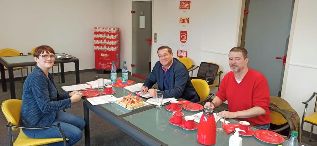 zu Besuch beim Traditionsunternehmen Kathi Rainer Thiele GmbH in Halle