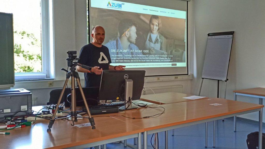 Vorstellung AZUBI4ID-Challenge zum Transfer